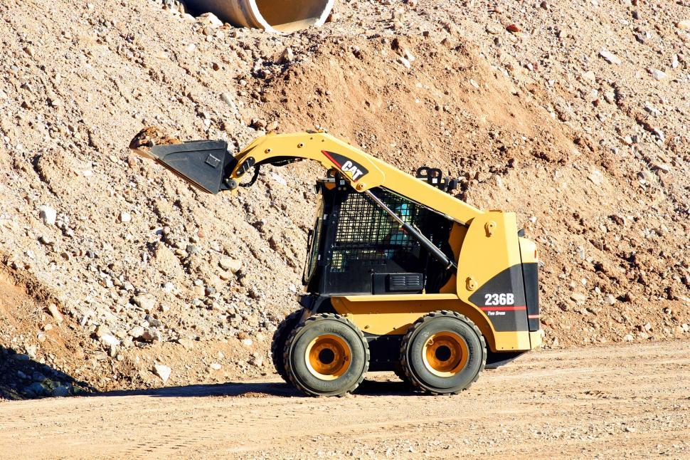 Download Free Stock HD Photo of Small earth mover Online