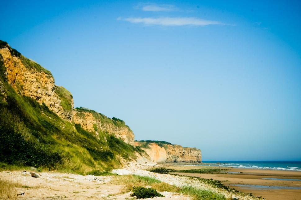 Download Free Stock HD Photo of beach cliffs Online