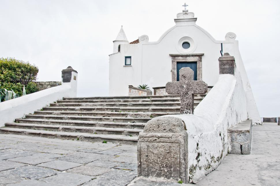 Download Free Stock HD Photo of Church of Soccorso, Forio, Ischia, Italy Online