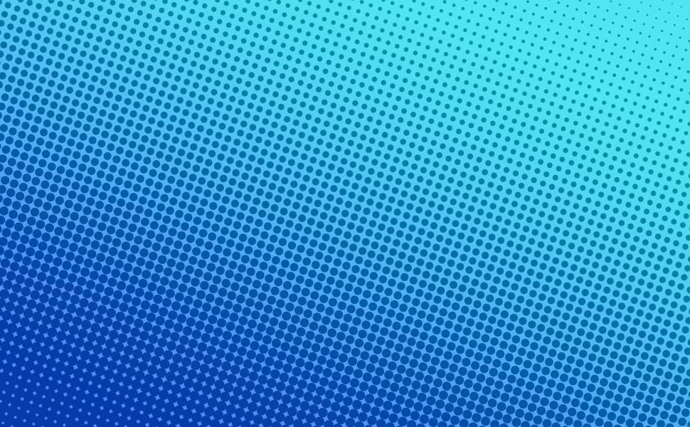Download Free Stock Photo of Blue halftone dots background