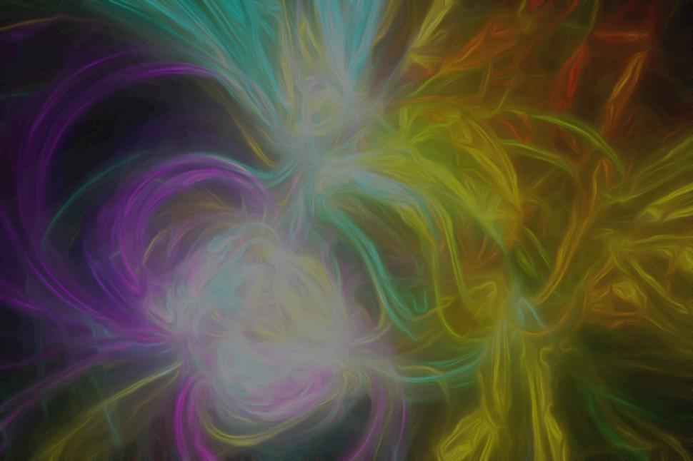 Download Free Stock Photo of Painted Fractal Flame