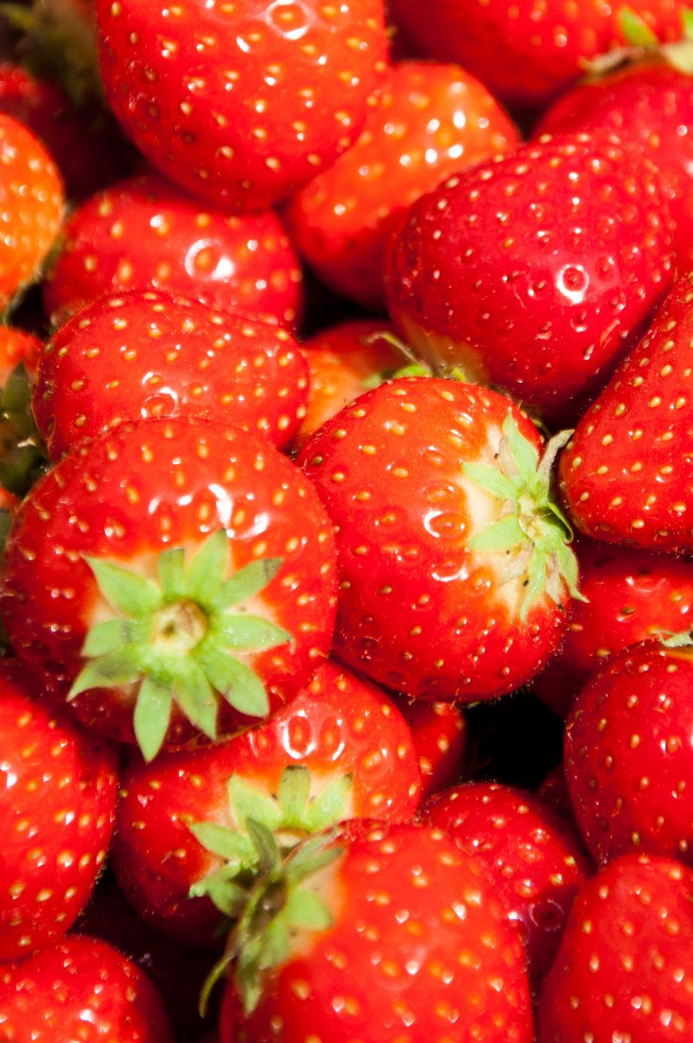 Download Free Stock HD Photo of strawberries background Online