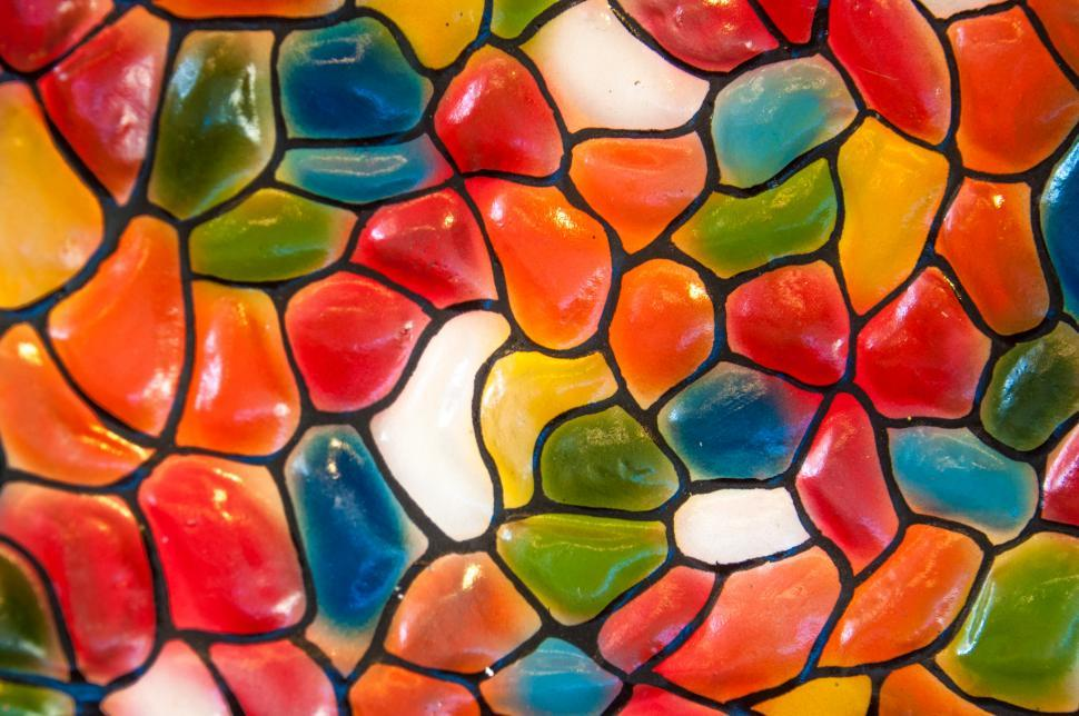 Download Free Stock HD Photo of colorful ceramic tiles wallpaper Online