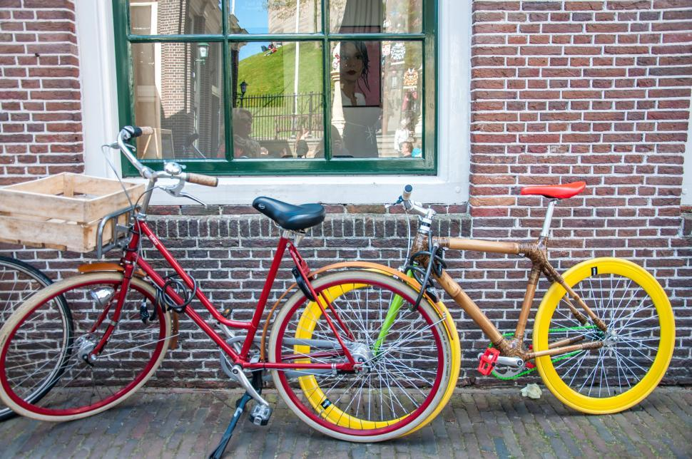 Download Free Stock HD Photo of bikes in Holland Online