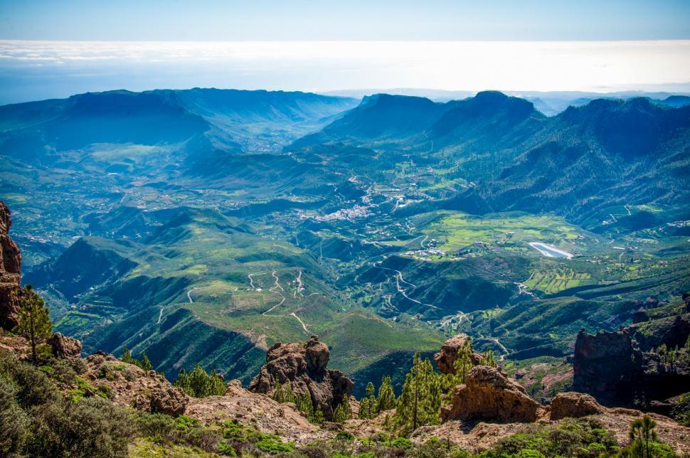 Download Free Stock Photo of Gran canaria landscape