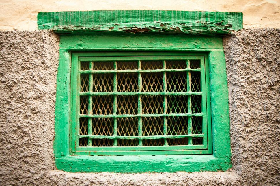 Download Free Stock Photo of Green window