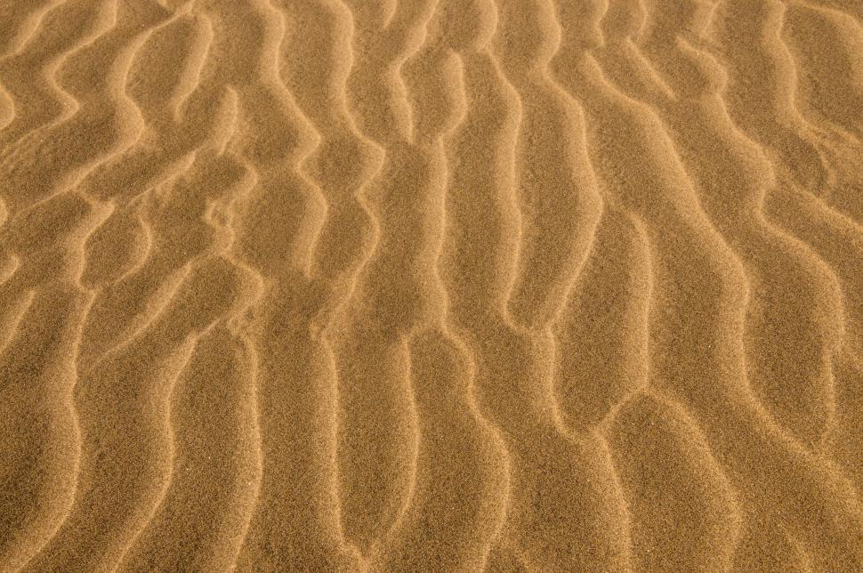 Download Free Stock HD Photo of Desert sand ripples texture Online