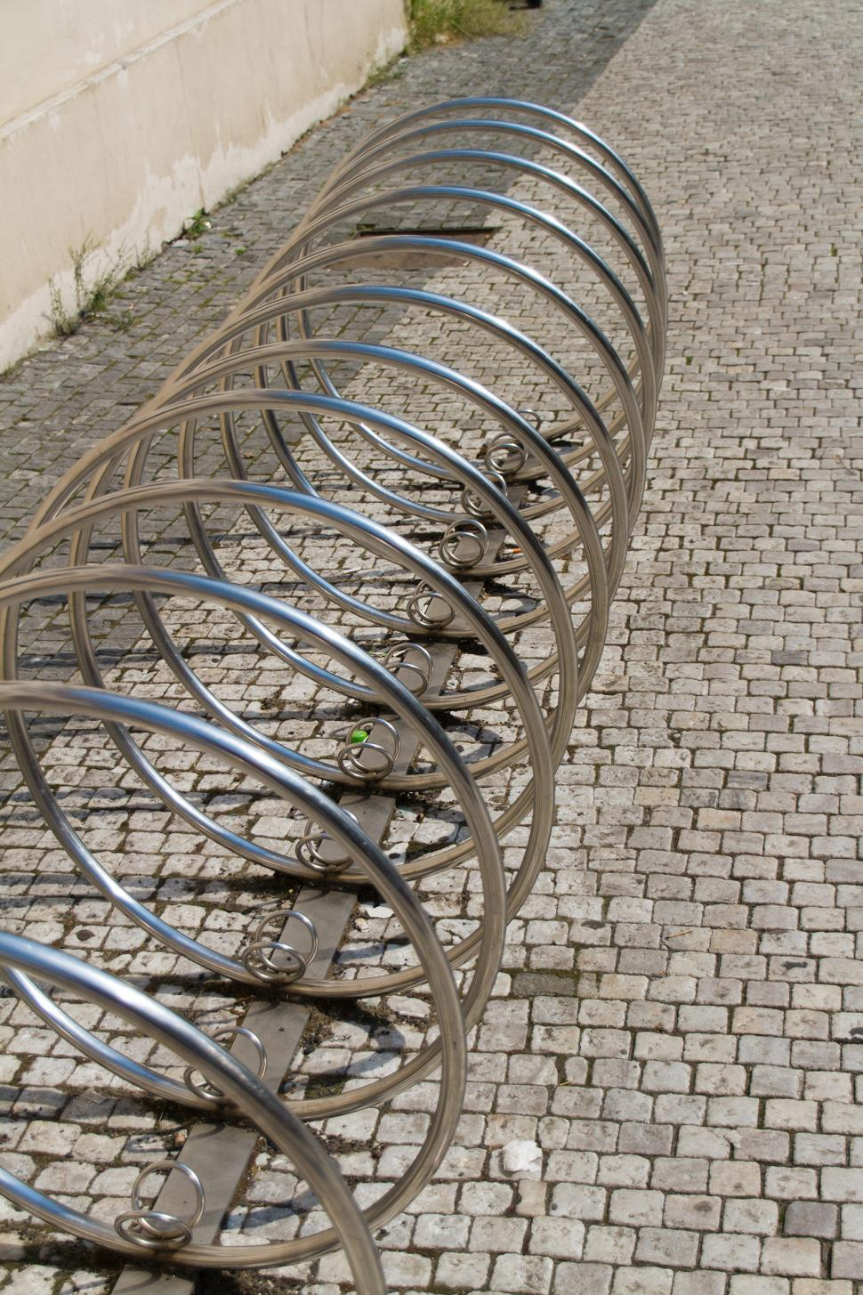 Download Free Stock Photo of Bicycle Parking