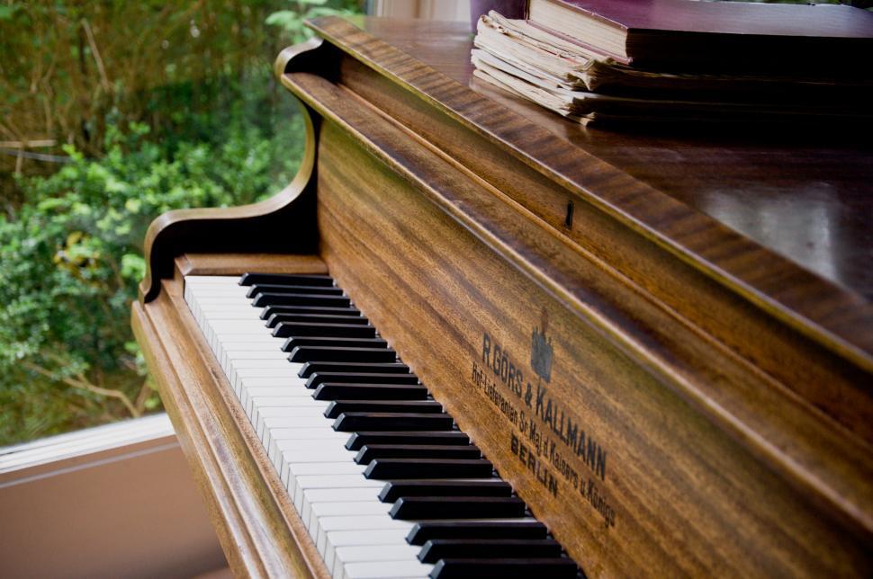 Download Free Stock Photo of piano keys