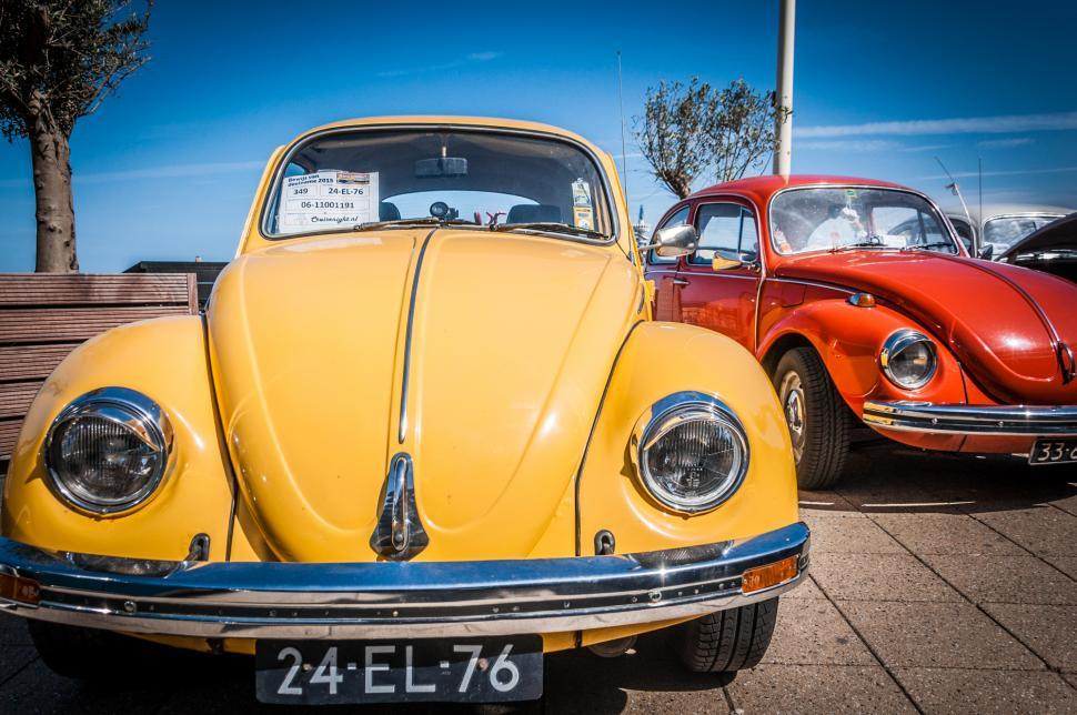 Download Free Stock Photo of Volkswagen Beetle cars