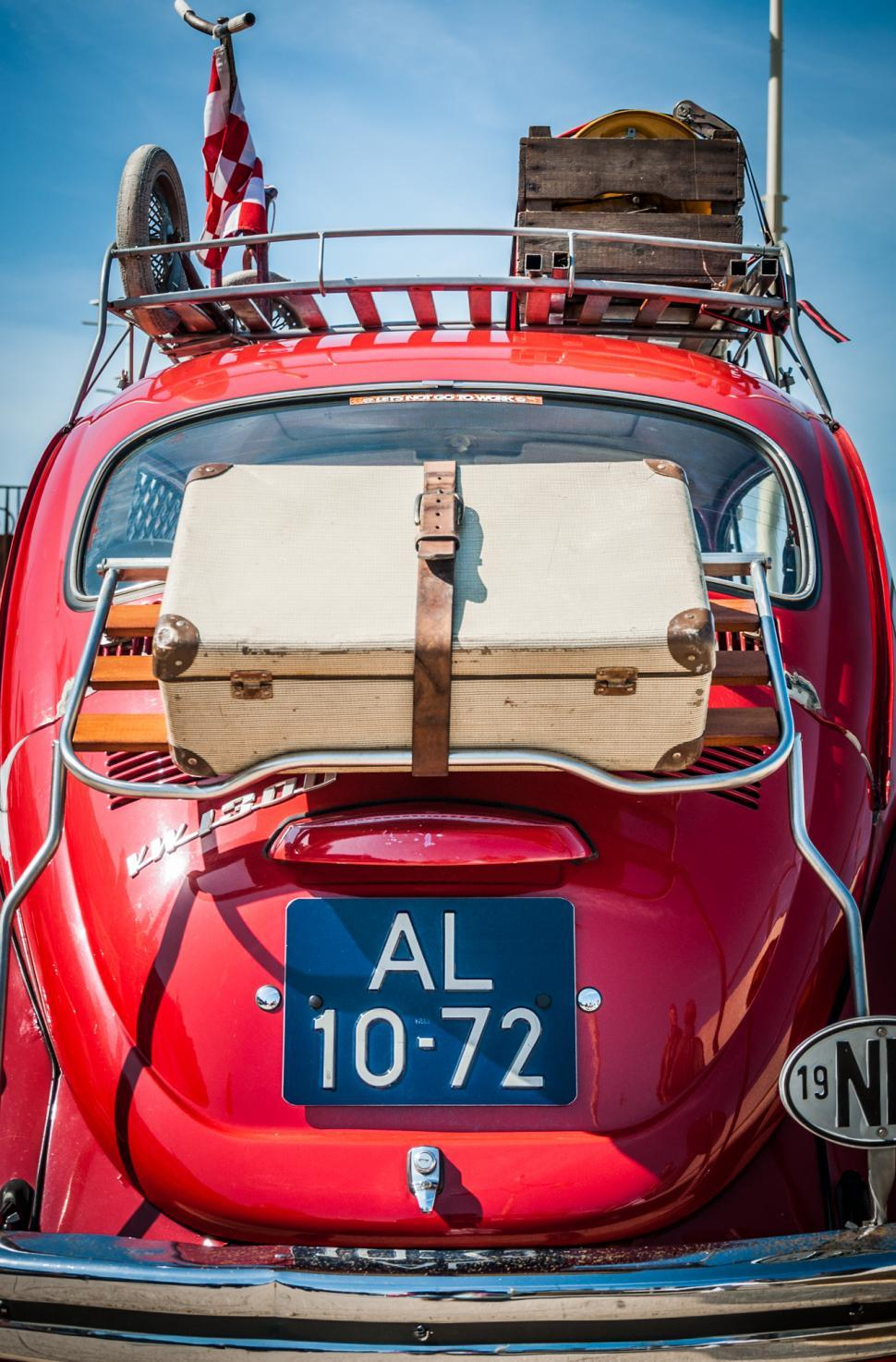 Download Free Stock Photo of VW Bug Rear