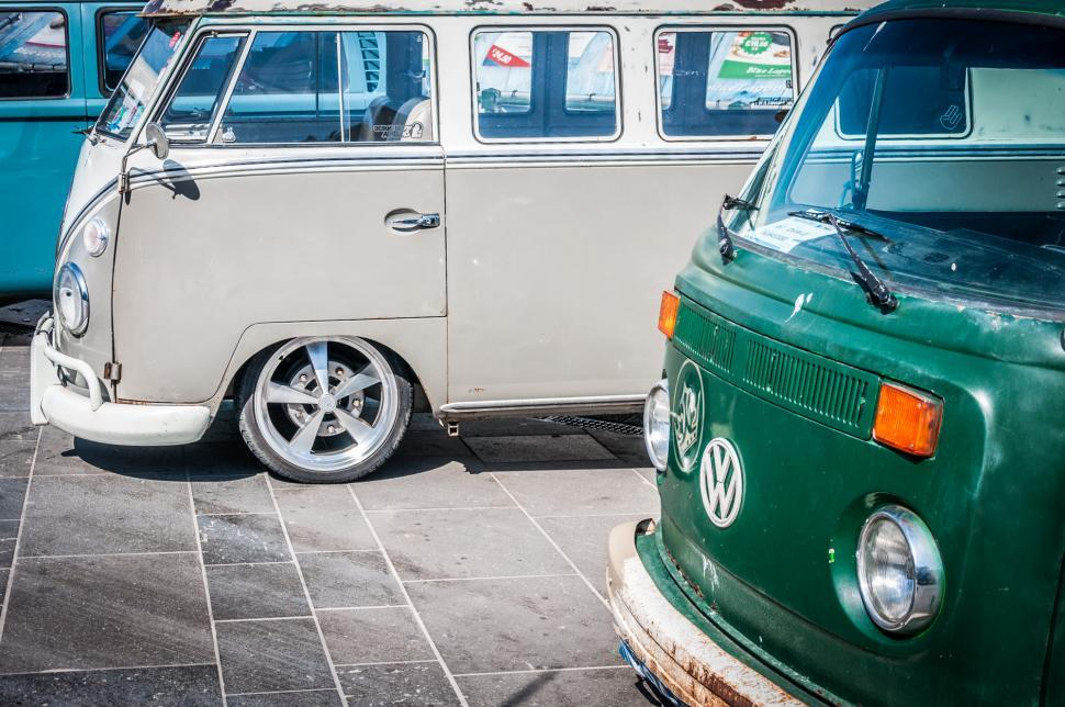 Download Free Stock Photo of volkswagen bus