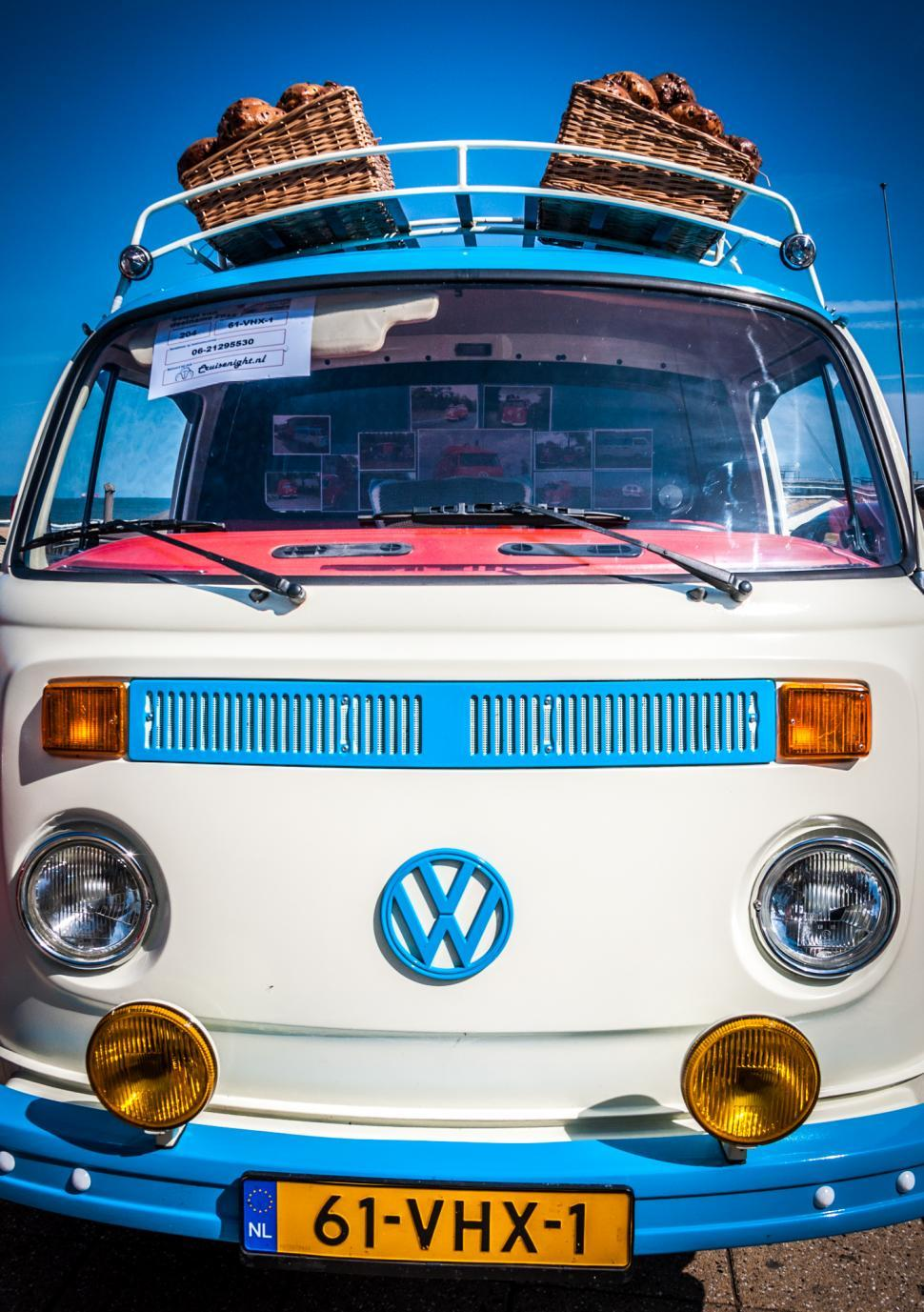 Download Free Stock Photo of volkswagen van