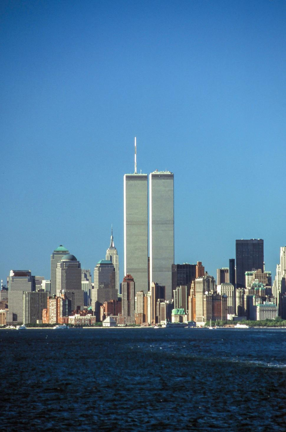 Download Free Stock Photo of World Trade Center lower Manhattan