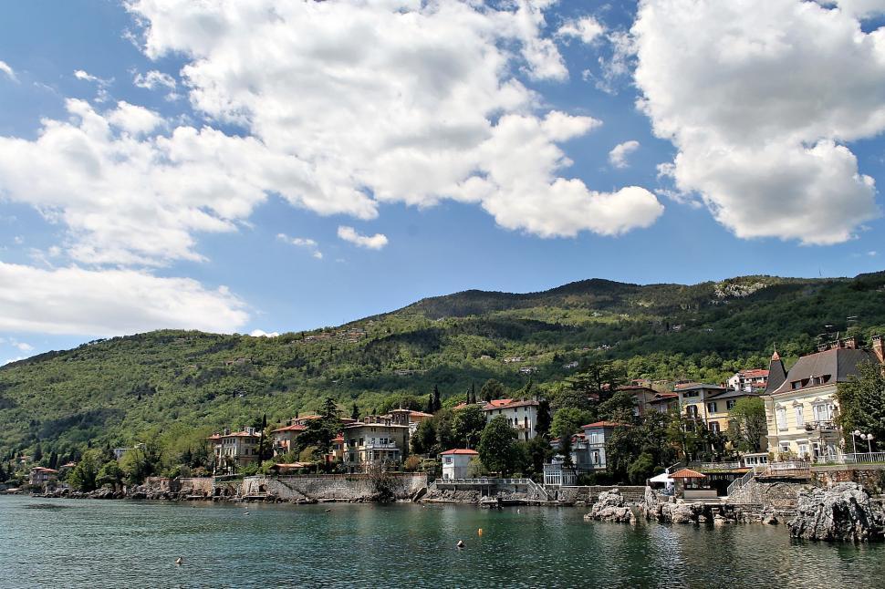 Download Free Stock HD Photo of Lovran, Istria Online