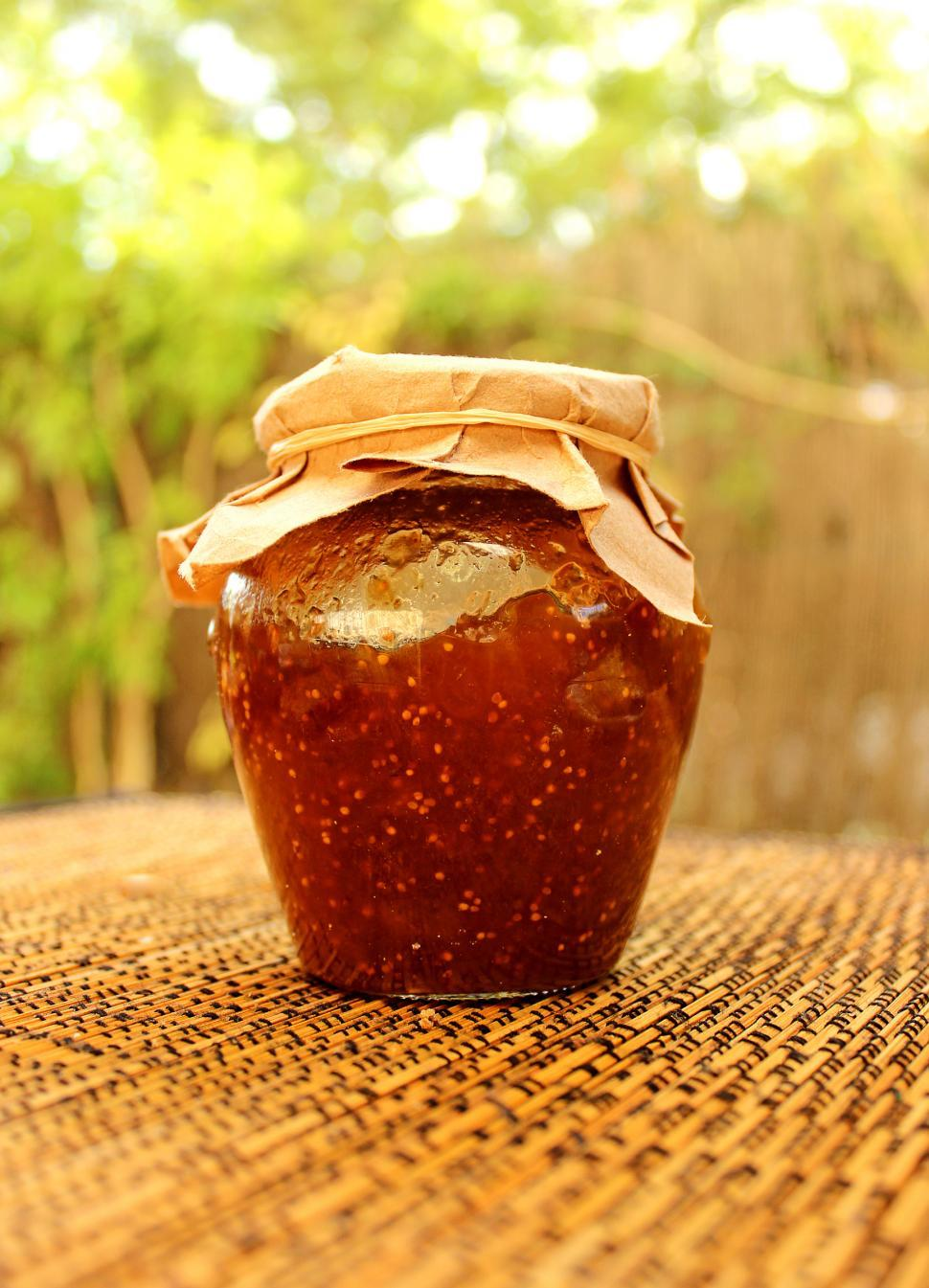 Download Free Stock Photo of Fig jam