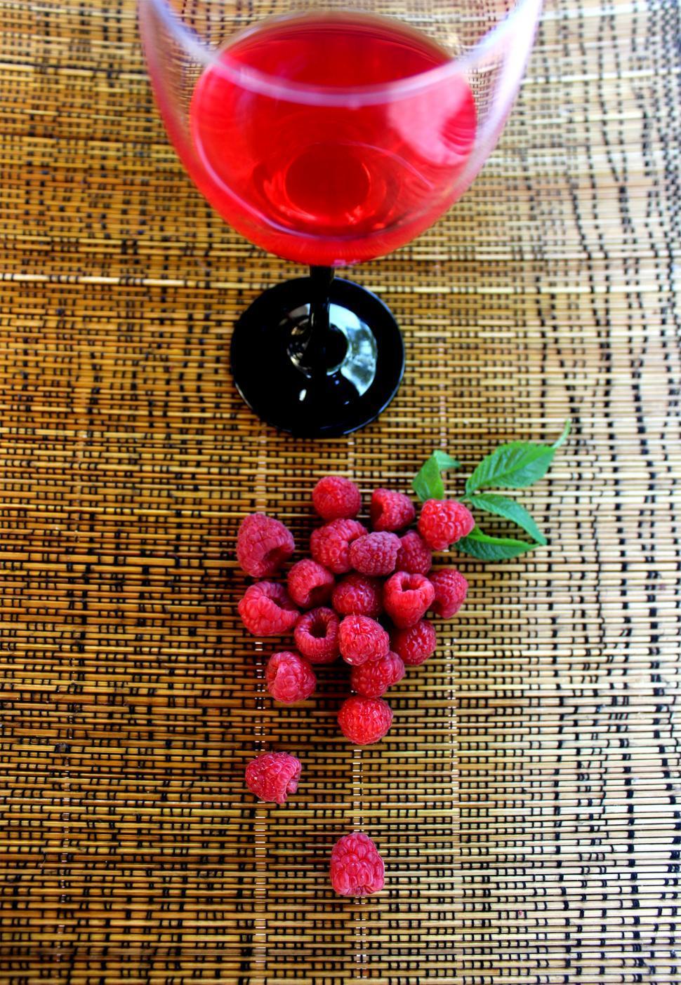 Download Free Stock HD Photo of Raspberry juice Online