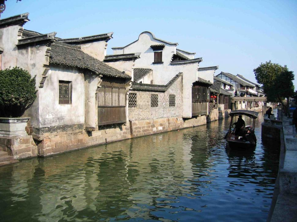 Download Free Stock Photo of Chinese town