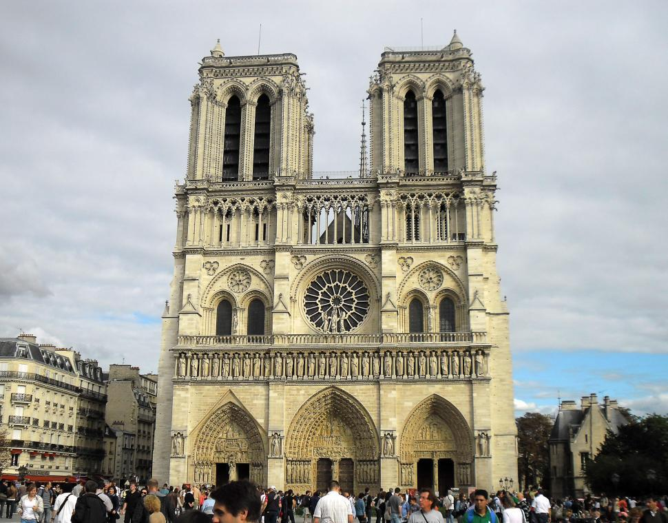 Download Free Stock Photo of Notre Dame Cathedral - Paris