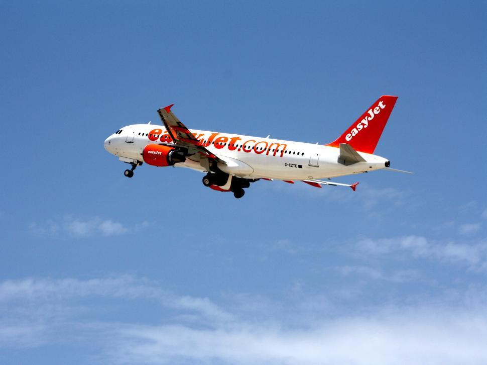 Download Free Stock Photo of Passenger jet at take-off