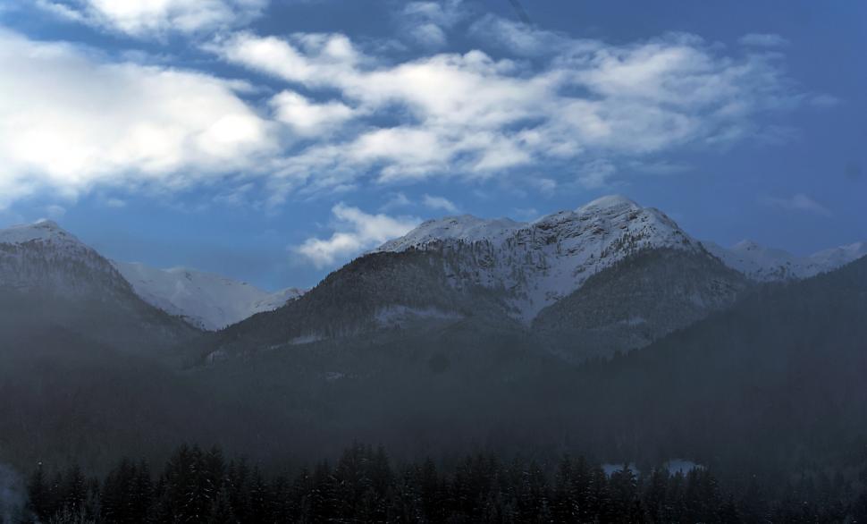 Download Free Stock Photo of Alpine sunrise