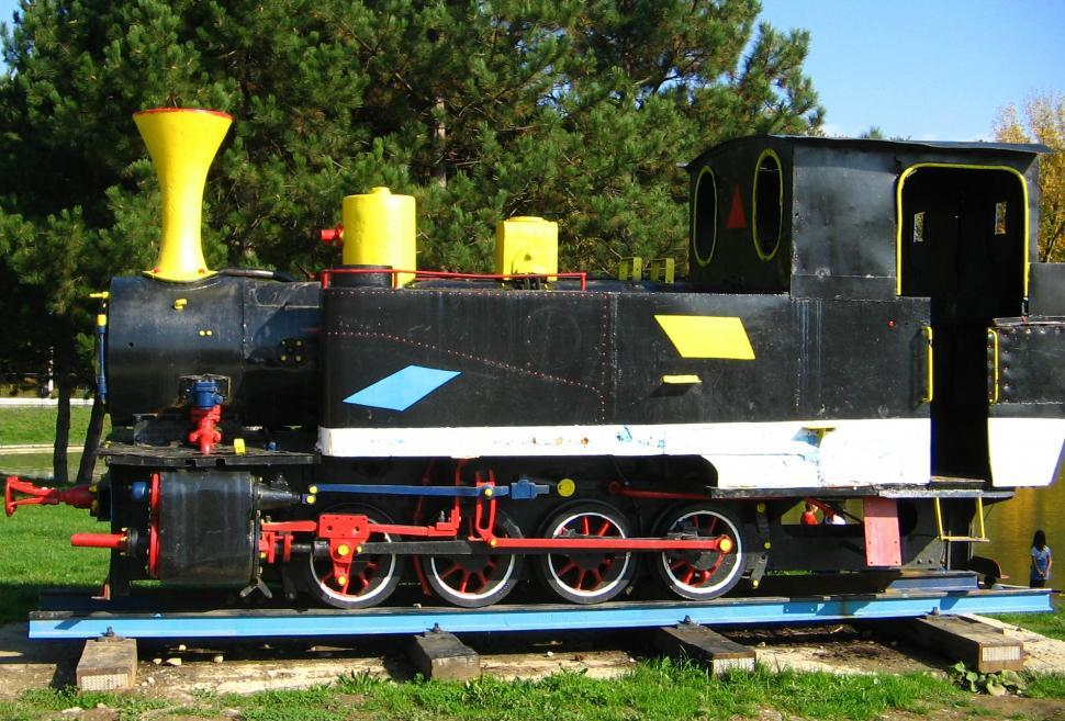 Download Free Stock Photo of The Little Engine That Could