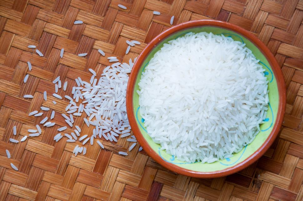 Download Free Stock Photo of bowl of rice