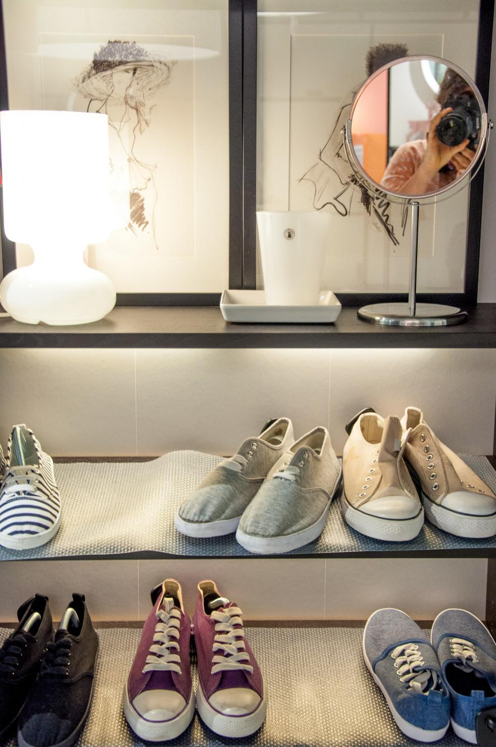 Download Free Stock Photo of closet with shoes