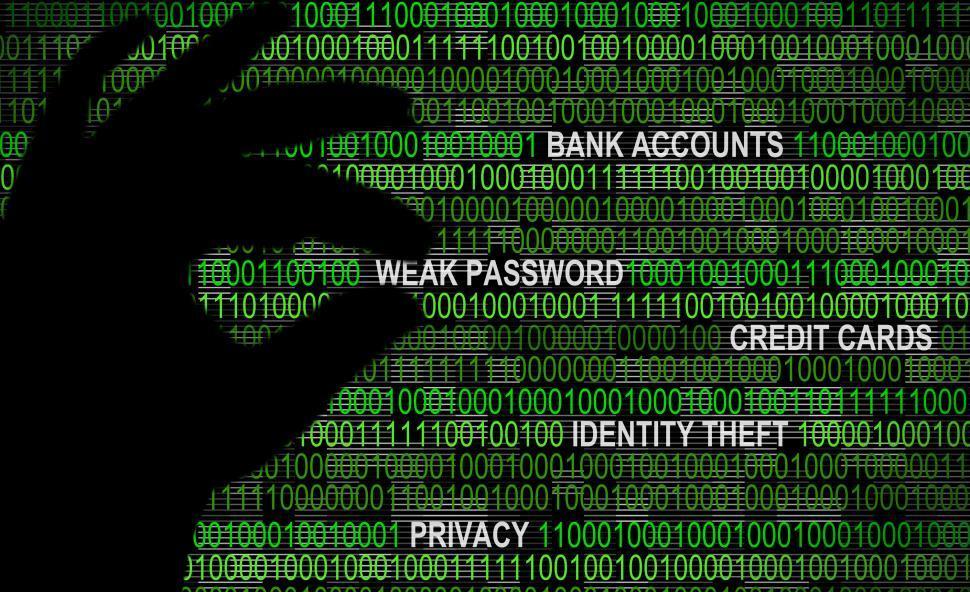 Download Free Stock Photo of Cybersecurity - Weak Password Concept