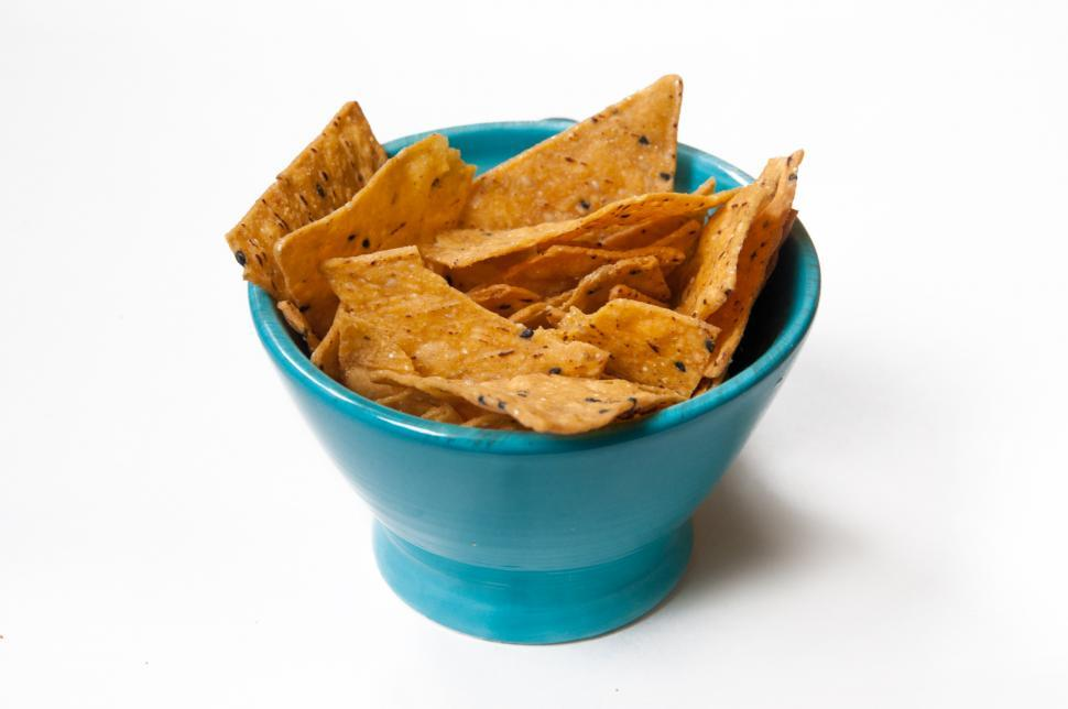 Download Free Stock Photo of  nachos chips junkfood