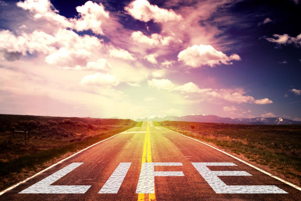 Download Free Stock Photo of Life is a Journey - Concept