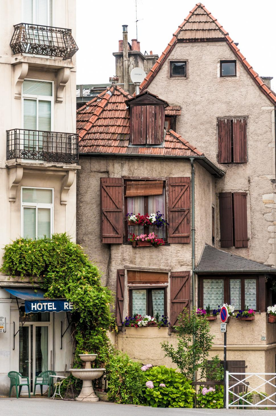 Download Free Stock HD Photo of charming french houses Online
