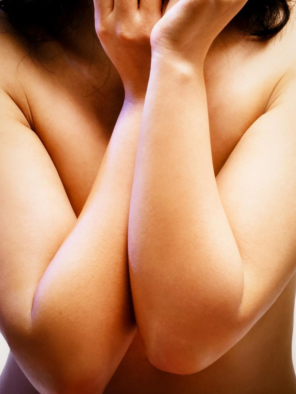 Download Free Stock Photo of Close up woman body arms and hands