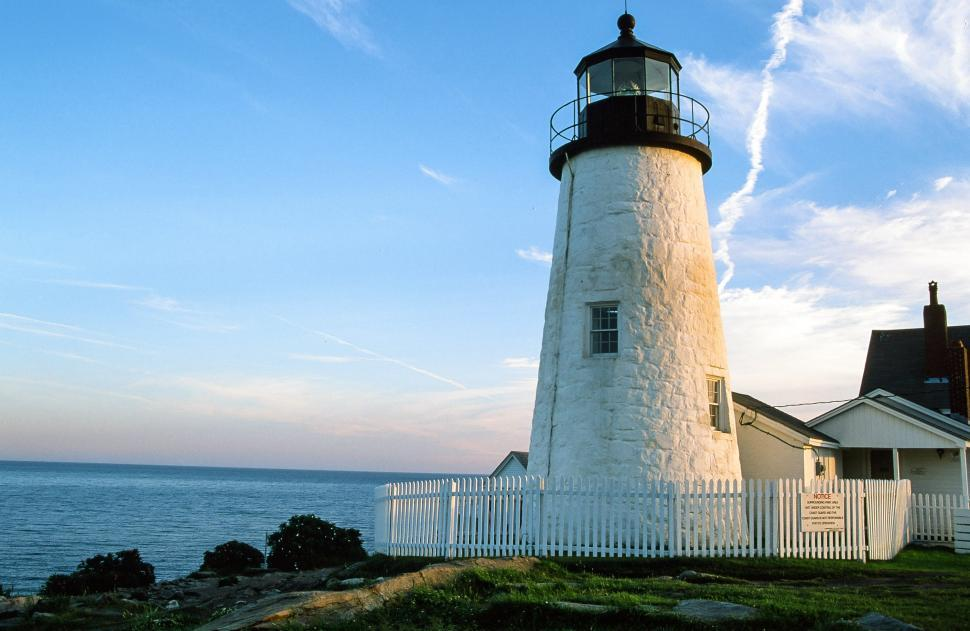 Download Free Stock Photo of Pemaquid Point  Lighthouse