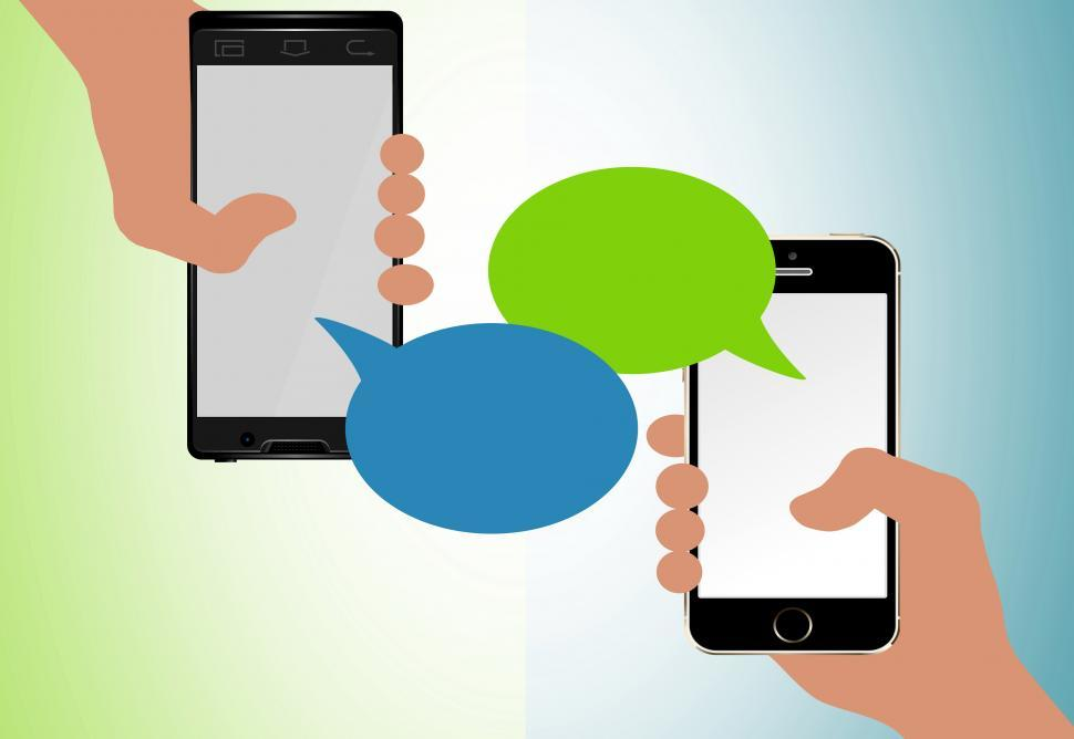 Download Free Stock HD Photo of Text messaging concept Online