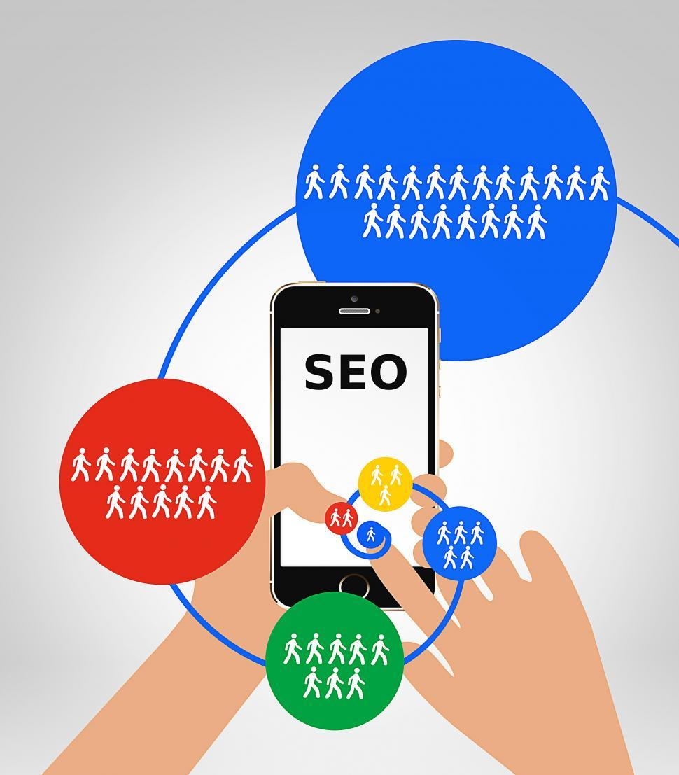Download Free Stock Photo of SEO - Search Engine Optimization concept
