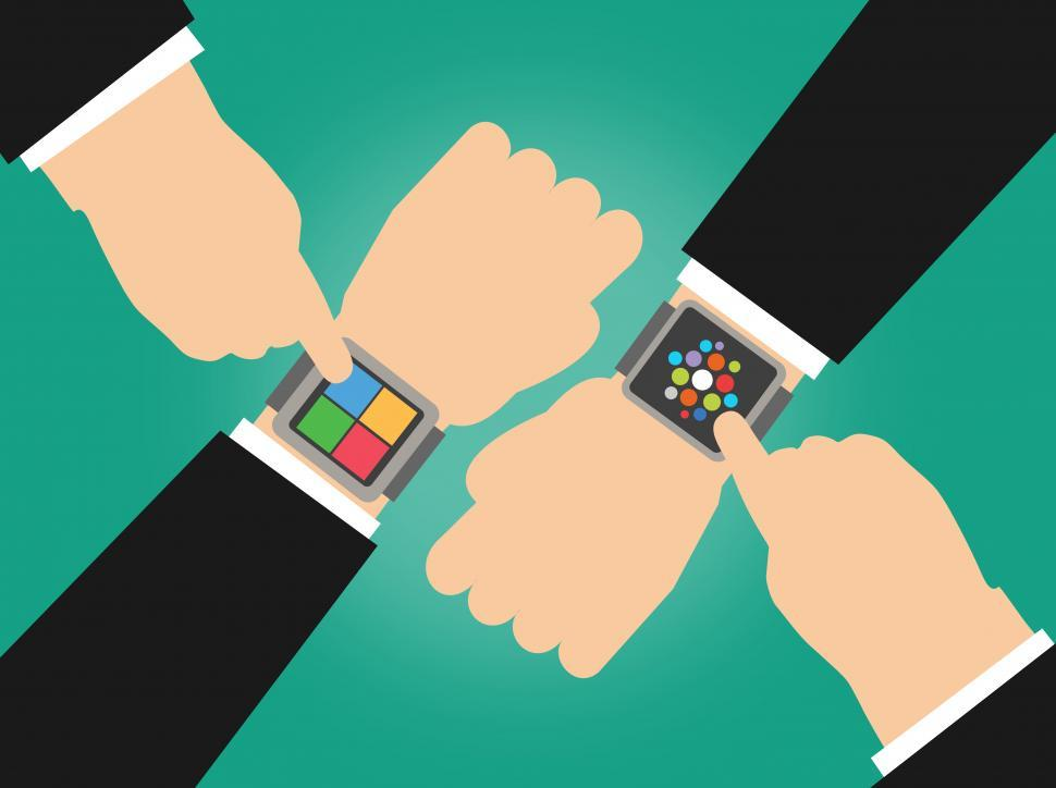 Download Free Stock Photo of Wearables - The Great Smartwatch Scramble