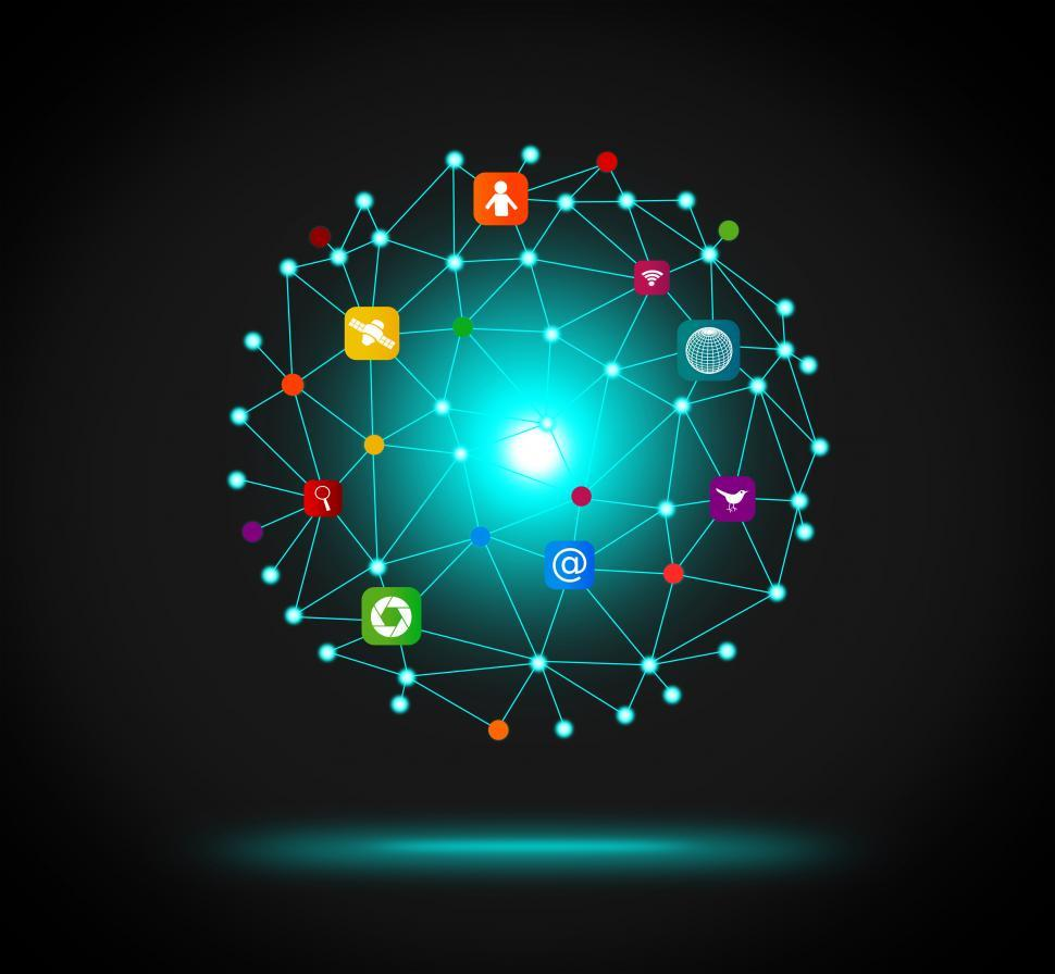 Download Free Stock Photo of IT - Information Technology network concept