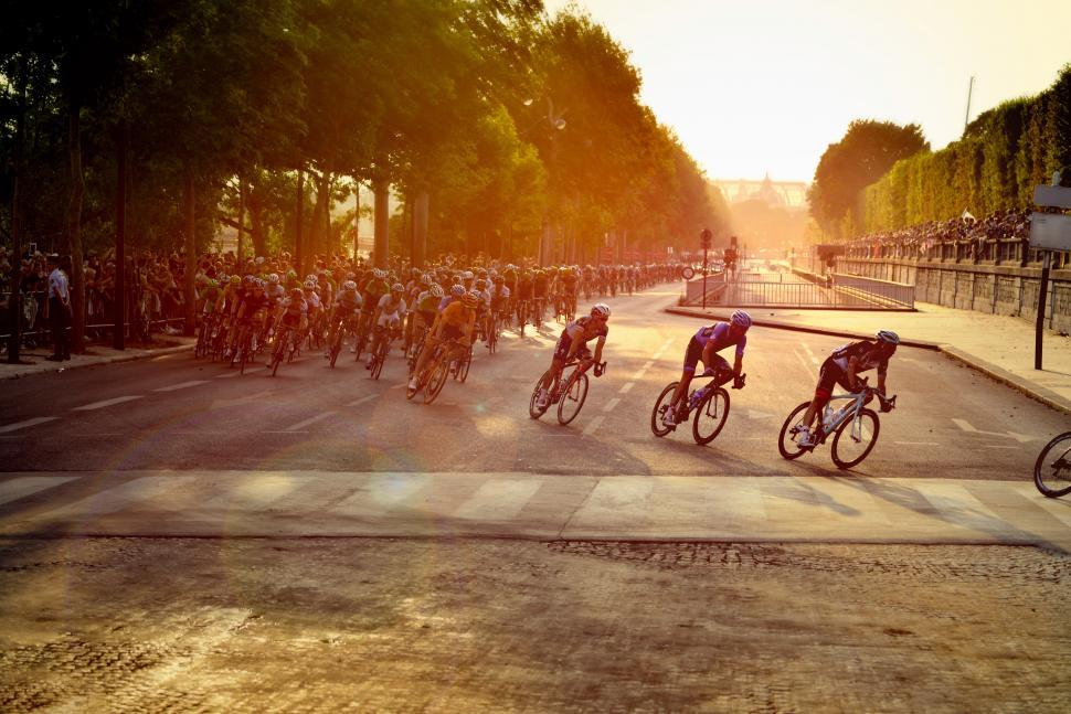 Download Free Stock HD Photo of Professional cycling race Online