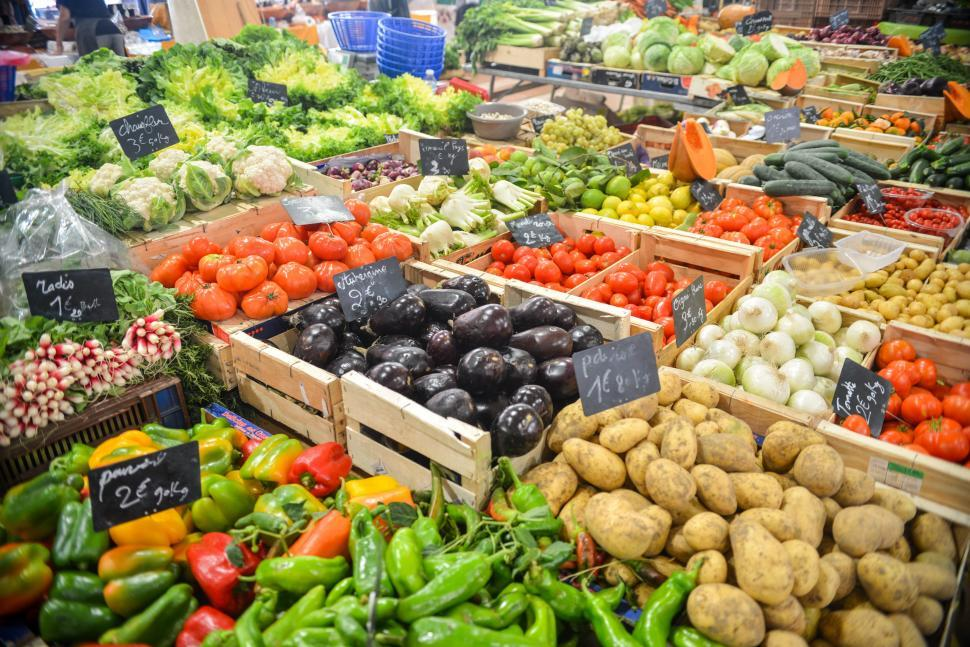 Download Free Stock HD Photo of Vegetables market Online