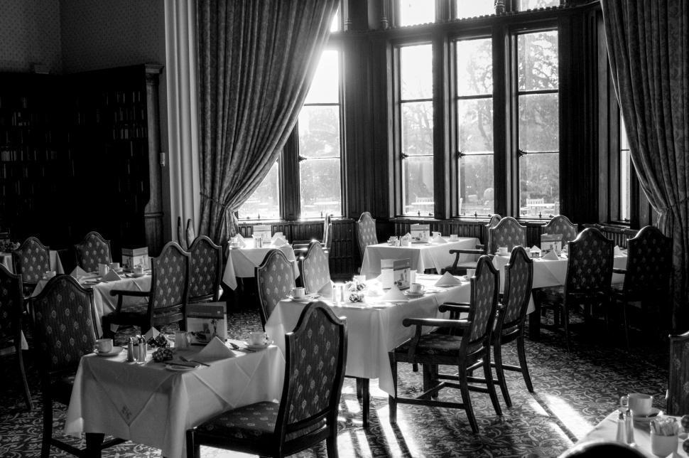Download Free Stock HD Photo of Restaurant interior Online