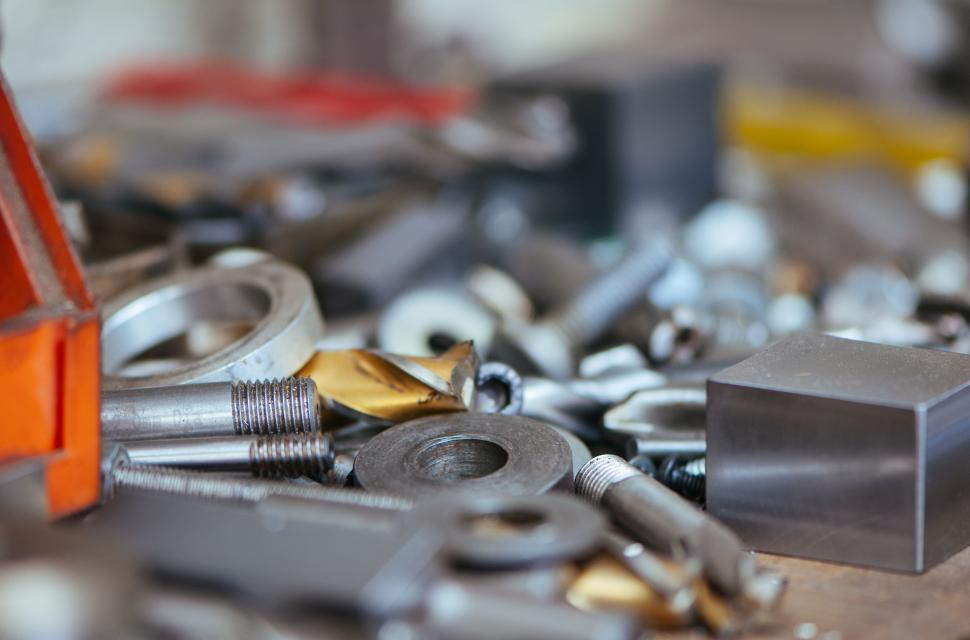 Download Free Stock HD Photo of Nuts and bolts Online