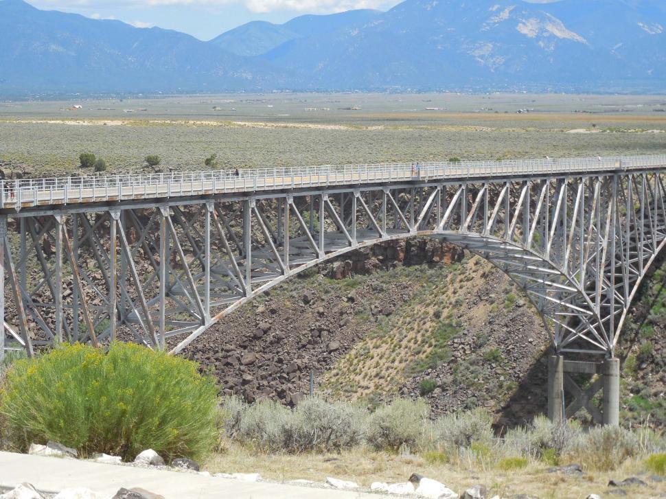 Download Free Stock HD Photo of Rio Grande Gorge Bridge Online