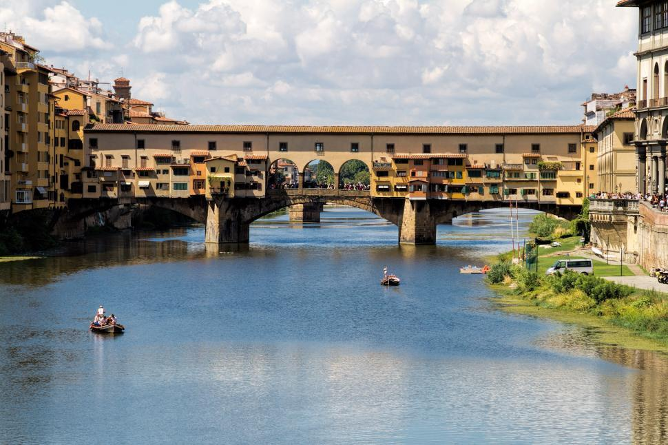 Download Free Stock Photo of Ponte Vecchio in Florence, Italy