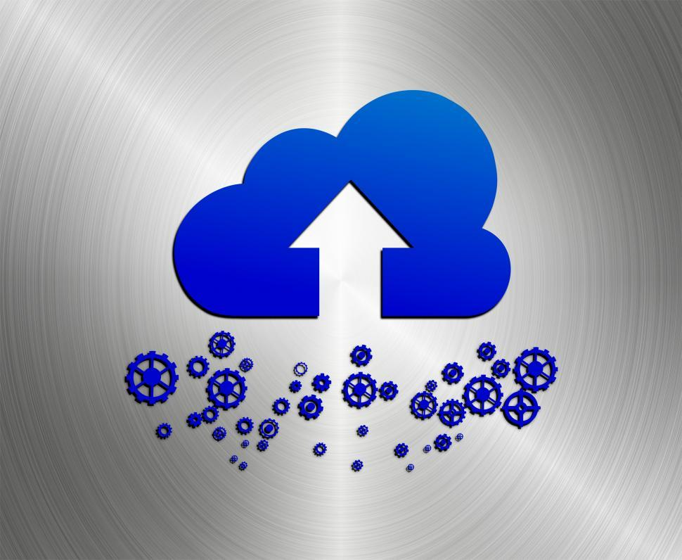 Download Free Stock HD Photo of Cloud upload concept Online