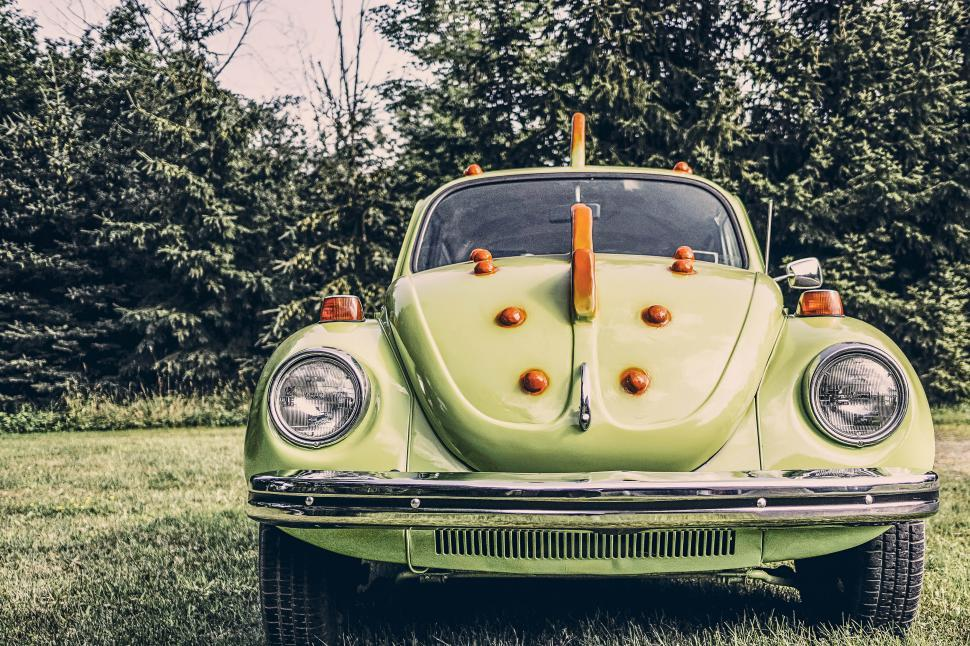 Download Free Stock Photo of Vintage Beetle Car