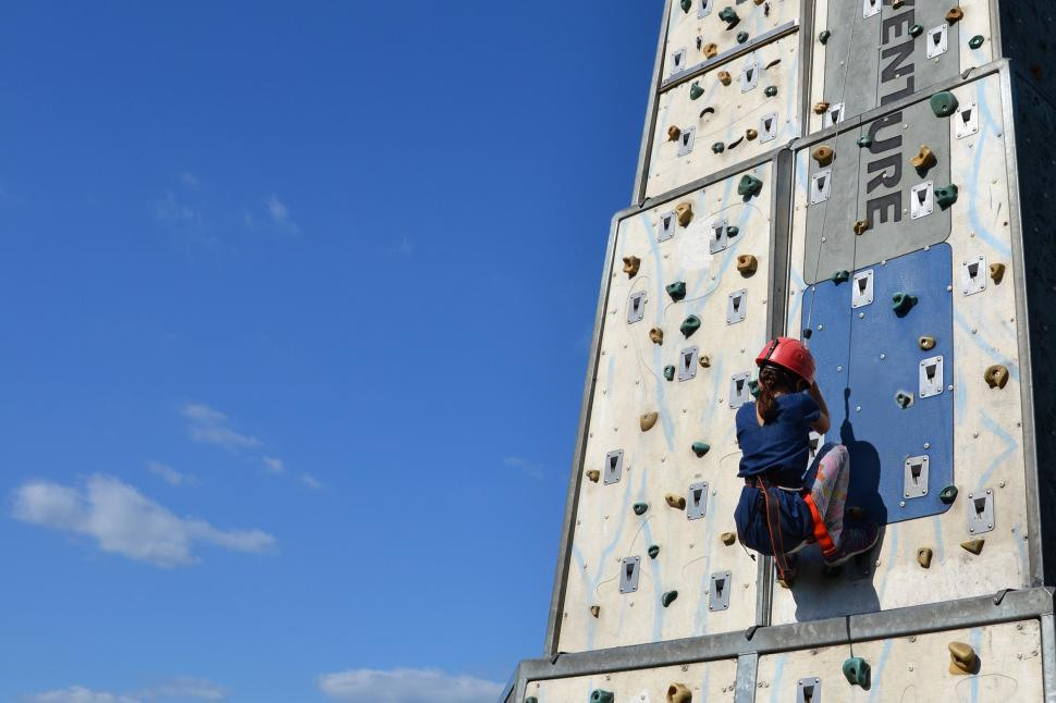 Download Free Stock Photo of Little wall climber
