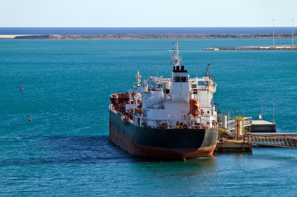 Download Free Stock Photo of Oil Tanker