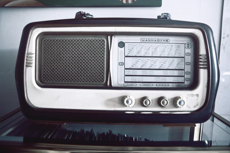 Download Free Stock HD Photo of Vintage radio Online