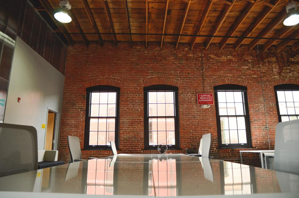 Download Free Stock Photo of Nice old office space
